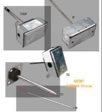 管道式温度传感器 –开放式-TDBBR00