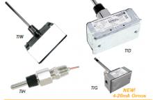 浸入式温度传感器 –螺纹管件- 2-1/2in 探头-TIHA0B0
