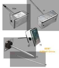 管道式温度传感器 –防雨-TGBBR00