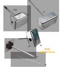 管道式温度传感器 –发射器-TDDAM10