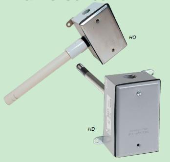 户外湿度传感器 – 豪华 - 2% NIST- HO2NMSX-HO2NMSX